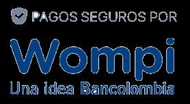 Logo de pagos seguros Wompi (1)